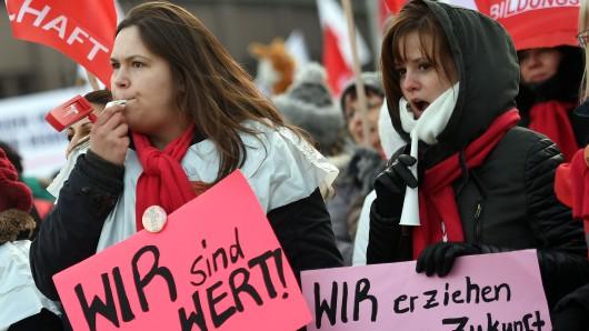 Die Dienstleistungsgewerkschaft Verdi will ihre Mitglieder im öffentlichen Dienst in den nächsten Tagen bundesweit zu Streiks aufrufen (Symbolbild).