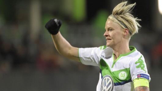 Nilla Fischer (Archivbild) drehte das Spiel für die VfL-Frauen
