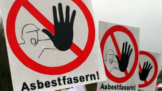 Vorsicht Asbest! Die Staatsanwaltschaft hat das Verfahren eingestellt.
