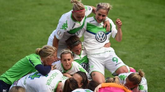 Reichlich Grund zum Jubeln hatten die VfL-Kickerinnen bei ihrem Auswärtsspiel in Leverkusen (Archivbild).