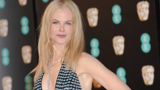 Im Februar noch bei den British Academy Film Awards in London, am Samstag, 4. März, schon in Hamburg: Nicole Kidman wird mit der Goldenen Kamera geehrt.