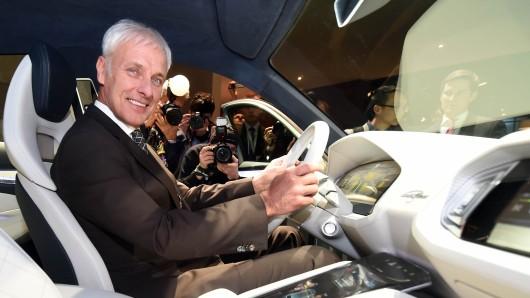 Matthias Müller, Vorstandsvorsitzender von Volkswagen