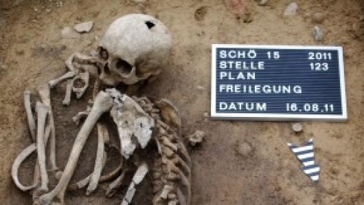 So haben die frühen Schöninger ihre Toten bestattet - zu sehen in der neuen Ausstellung in Wolfenbüttel.