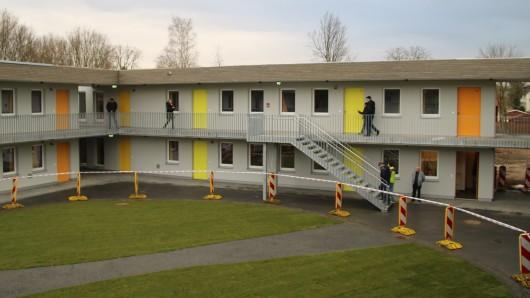 Ähnlich der Unterkunft in Bienrode siehen auch die neuen Studentenwohnheime aus (Archivbild).
