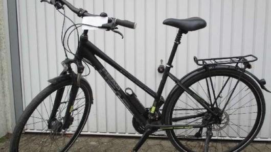 Die Polizei sucht die Besitzerin dieses Fahrrads.