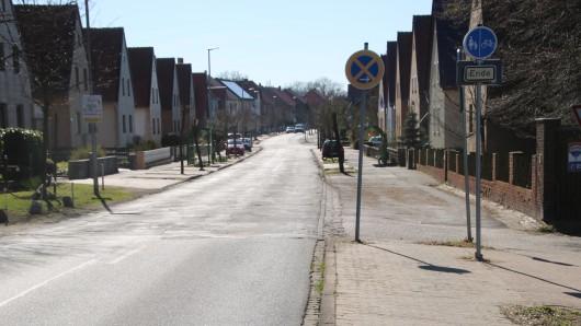Die Ortsdurchfahrtsstraße in Gadenstedt sorgt für Sorgen bei den Anliegern.