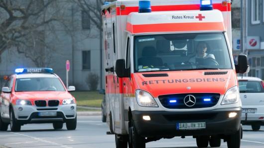 Die Verletzten wurden ins Krankenhaus gebracht (Symbolbild).