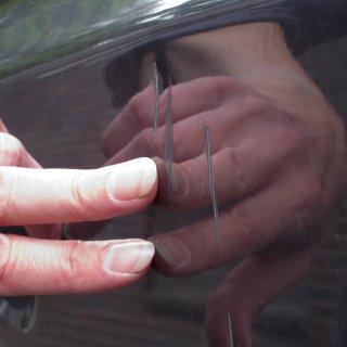 Gesucht wird ein dunkler Wagen (Archivbild).