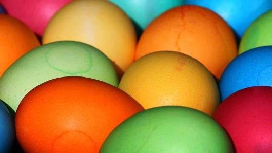 Hauptsache bunt: Ohne Ostereier ist das Fest doch nur farblos.