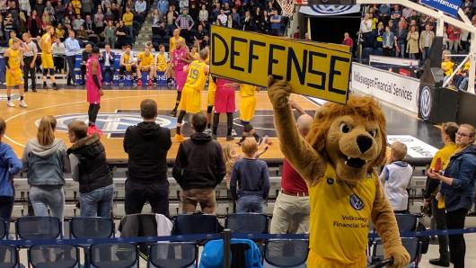news38.de schickt Euch zu den Basketball Löwen in die VW-Halle (Archivbild)