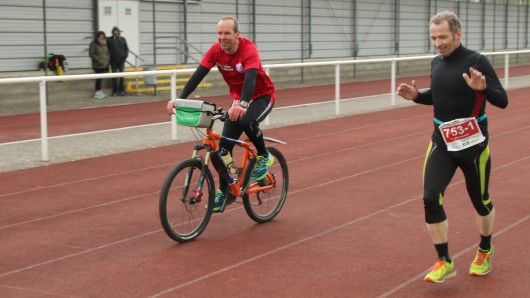 Gute Stimmung bei den Läufern beim Lauftag in Gifhorn.