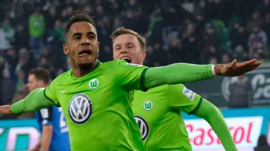 Daniel Didavi ist Torschütze des 1:0 für den VfL bei der Frankfurter Eintracht.