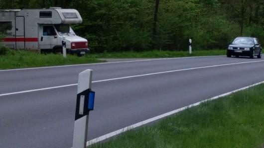 Ein Lovemobil an der B188 bei Gifhorn.
