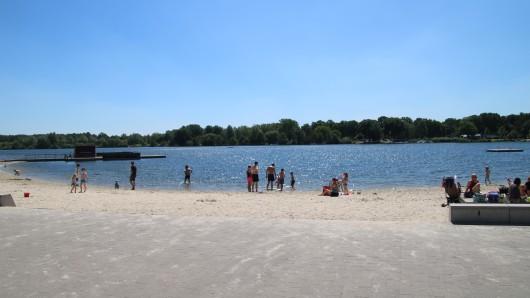 Heute wird's heiß - der Allerpark in Wolfsburg verschafft Abkühlung. (Archivbild)