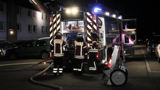 Nächtlicher Feuerwehreinsatz in der Petzvalstraße.