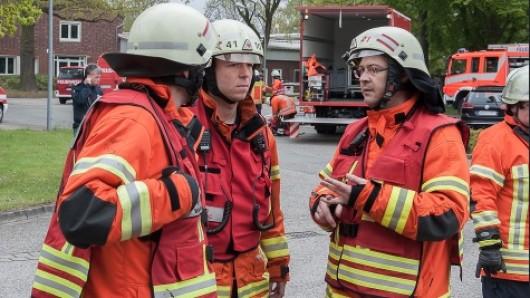 Feuerwehr im Einsatz (Symbolbild).
