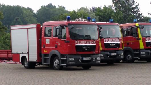 Die Feuerwehr Salzgitter war am Morgen im Einsatz. (Symbolbild)