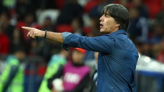 Jogi Löw gibt die Richtung für das Spiel gegen Kamerun vor: Auf Sieg spielen (Archivbild).