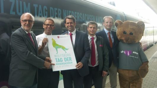Der Enno im Tag der Niedersachsen-Design: So werden die Fahrgäste nach Wolfsburg gebracht