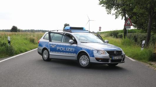 Ein Streifenwagen der Polizei Salzgitter (Archivbild)