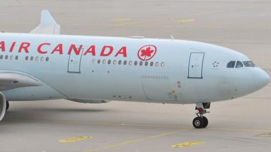 Ein Passagierflugzeug von Air Canada. (Archivbild)