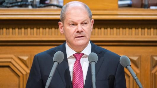 Hamburgs erster Bürgermeister Olaf Scholz (SPD).