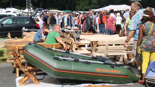 Auch der Harz und Heide Flohmarkt könnte auch am Sonntag wieder stattfinden (Archivbild).