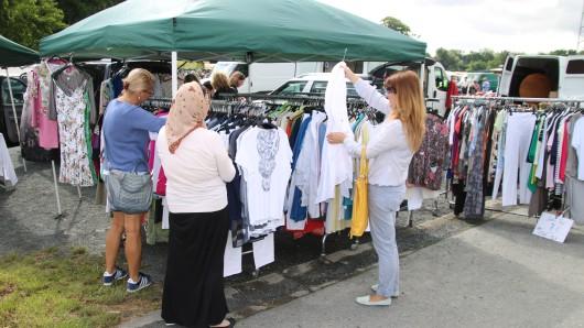Der nächste Flohmarkt findet am 18. August statt. (Archivbild)