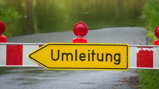 Auf der B6 bei Baddeckenstedt geht nichts mehr (Symbolbild).