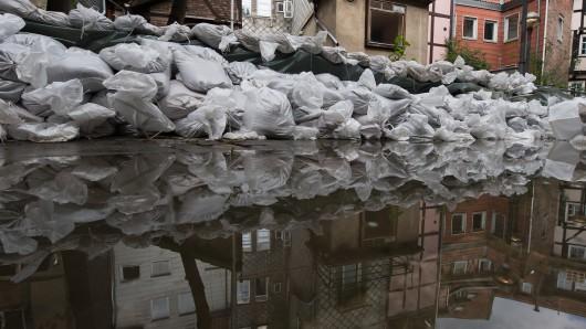 Für Flüsse im Harz wurde eine Hochwasser-Warnung herausgegeben. (Symbolfoto)