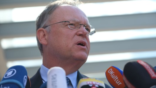 Ministerpräsident Stephan Weil: Kann er am 15. Oktober die Mehrheit zurückgewinnen?