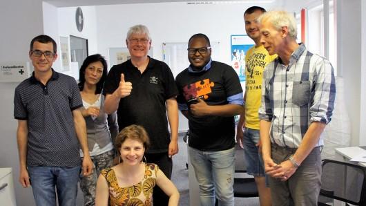 Das Organisationsteam von Interkulturelle Höfe. Die Aktion ist ein Projekt der Freiwilligenagentur.