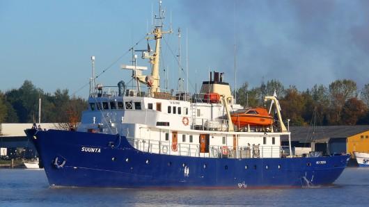 Am Freitag lag die C-Star im Mittelmeer östlich von Malta vor Anker.