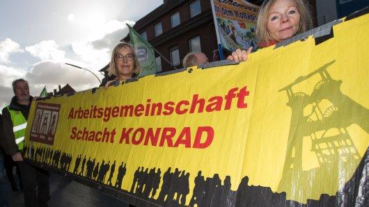 Der Verein AG Schacht Konrad hat den Anti-Atom-Treck organisiert (Archivbild).