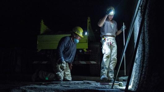 Das frühere Eisenerzbergwerk in Salzgitter wird momentan an verschiedenen Stellen für die künftige Nutzung als Atomendlager vorbereitet (Archivbild).