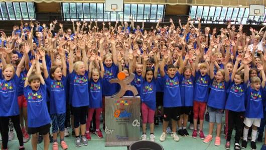 Insgesamt 300 Mädchen und Jungen von 15 verschiedenen Schulen aus Gifhorn und Umgebung machten mit.