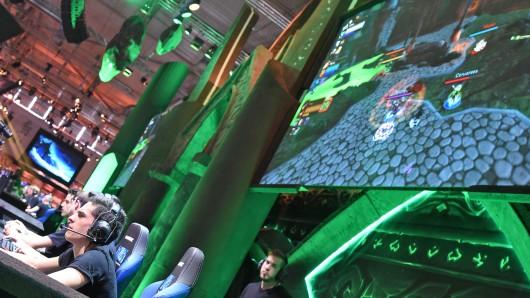 Rund 350.000 Besucher waren zur diesjährigen Gamescom nach Köln gekommen.