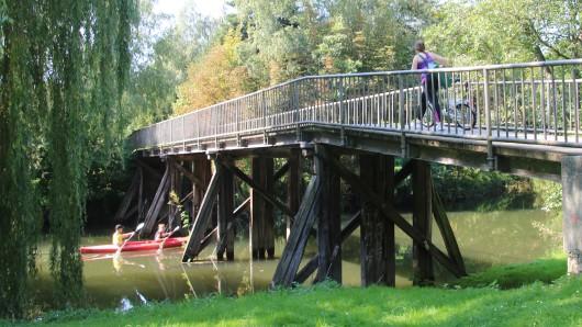 Die jetzige Brücke stammt aus dem Jahr 1949 und ist in einem schlechten Zustand.