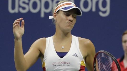 Angelique Kerber ist in der ersten Runde der US Open ausgeschieden.
