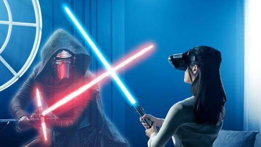 Lenovo und Disney versprechen sich von Star Wars: Jedi Challenges eine neue Ära des Geschichtenerzählens.
