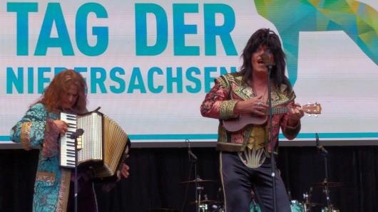 Die Kultband Sweety Glitter rockt den Tag der Niedersachsen.