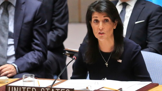 Die US-amerikanische UN-Botschafterin Nikki Haley: Nordkorea bettelt um Krieg.
