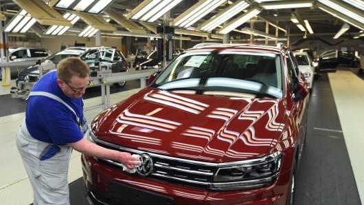 Läuft bei VW: Im ersten Halbjahr wurden so viele Autos ausgeliefert wie noch nie. (Archivbild)