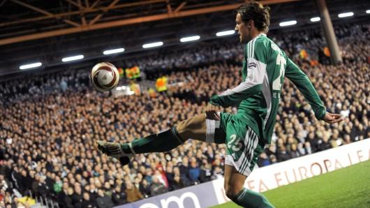Christian Gentner im VfL-Dress: Von 2007 bis 2010 spielte er bei den Grün-Weißen.