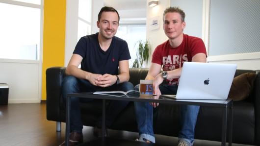 Daniel Steinhauß und Jörg Ludwig veranstalten den Wettbewerb Braunschweig sucht das IT-Brain.