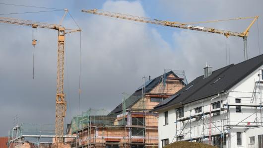 Das Baugebiet in Stöckheim bietet Platz für 92 Einfamilienhäuser. (Symbolbild)