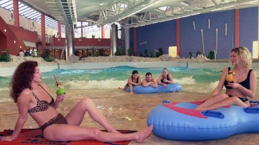 Das BadeLand in Wolfsburg feiert den 16. Jahrestag seiner Eröffnung (Archivbild).