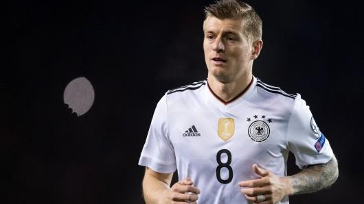 Toni Kroos im Trikot der Deutschen Nationalmannschaft (Archivbild).