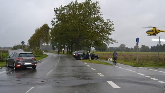 Verkehrsunfall Wilscher Weg / Neubokeler Straße