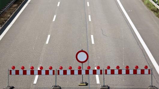 An der A2 wird am Sonntag gebaut. (Symbolbild)